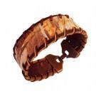 Bratara handmade din piele INCAS1-M25